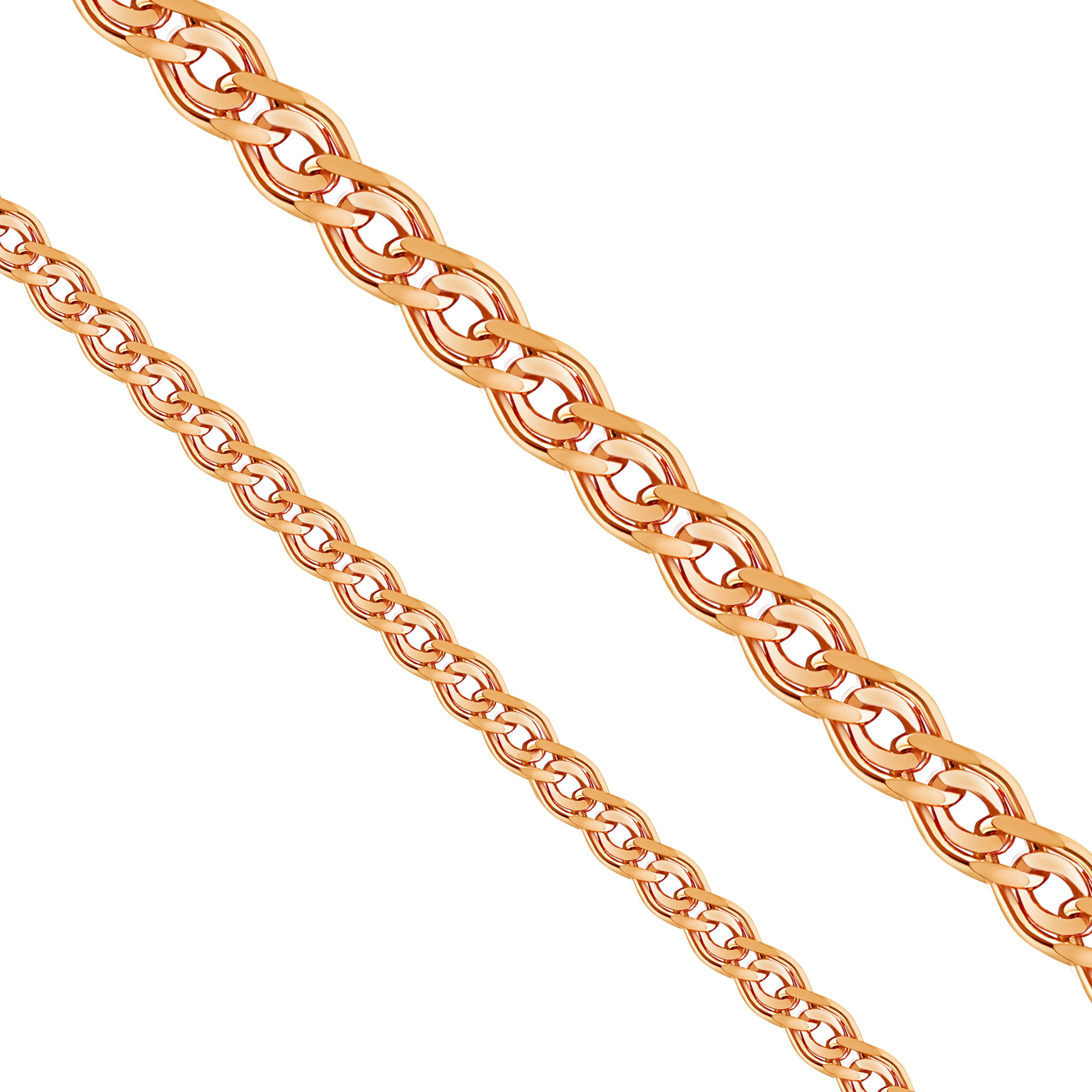 Цепочка из красного золота (арт. ЦНН20512030)