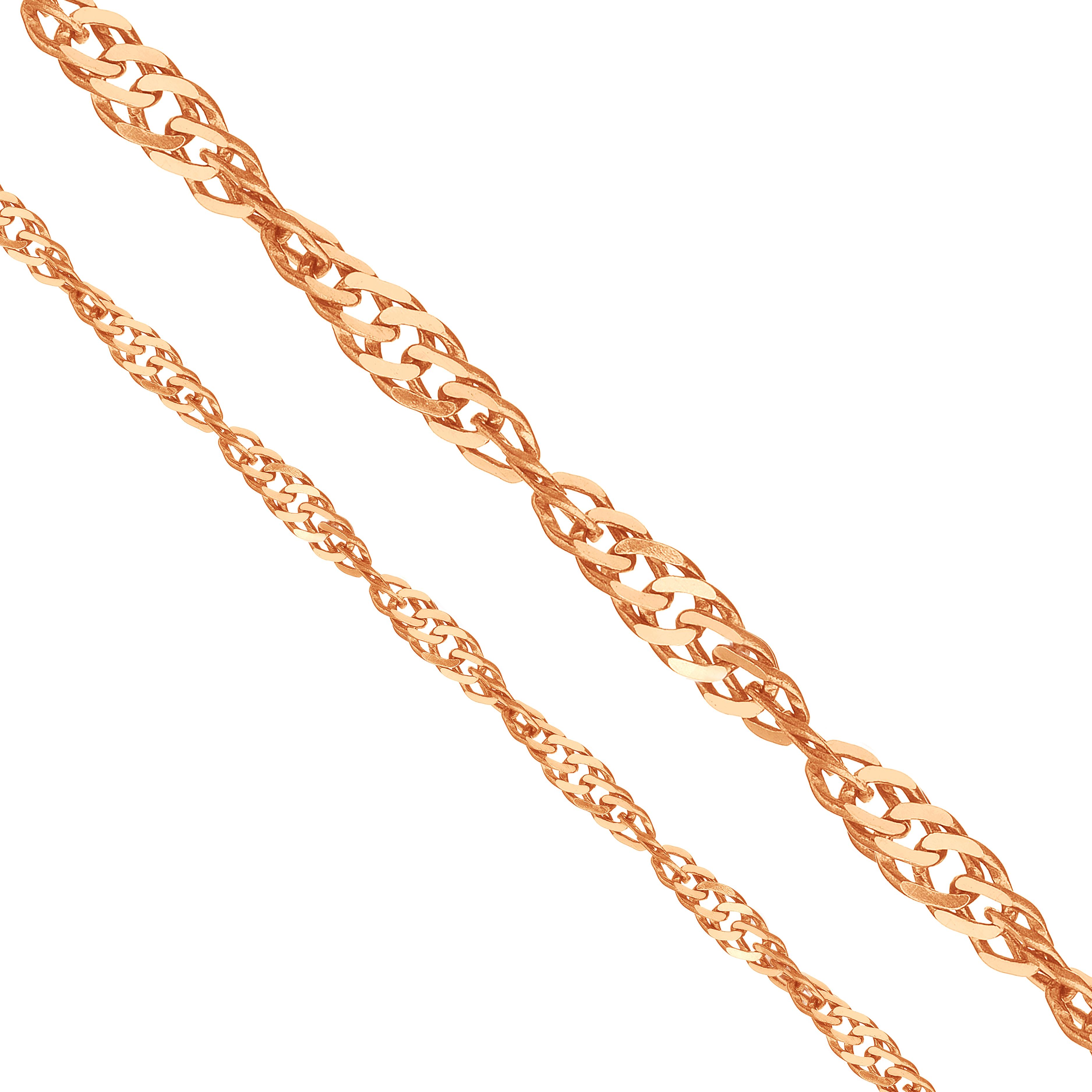 Цепочка из красного золота (арт. ЦППН20412040)
